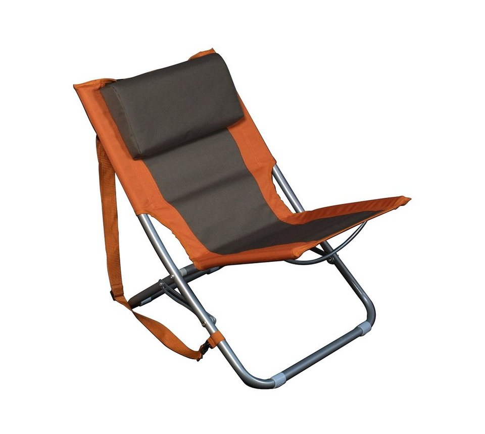 Relags Camping-Stuhl »Travelchair Beach orange/braun« in braun