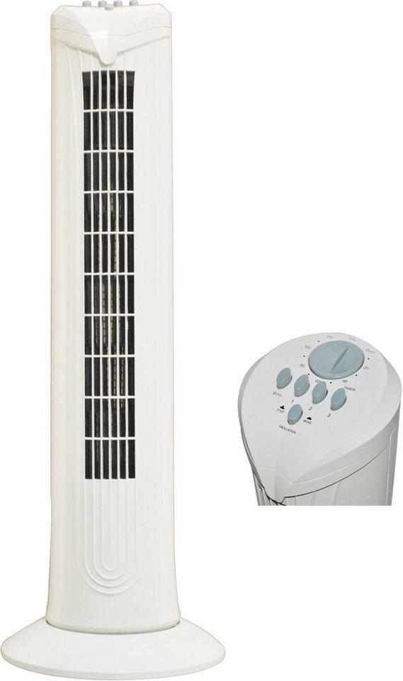 Salco Turmventilator KLT-1010 in weiß