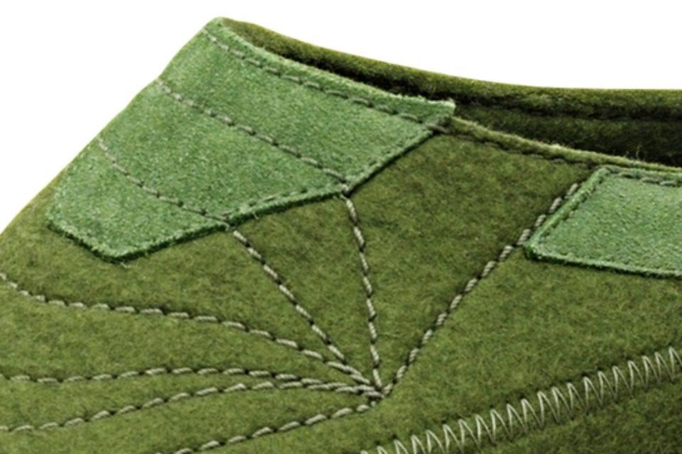 HAFLINGER Filz-Hausschuhe online kaufen  grün