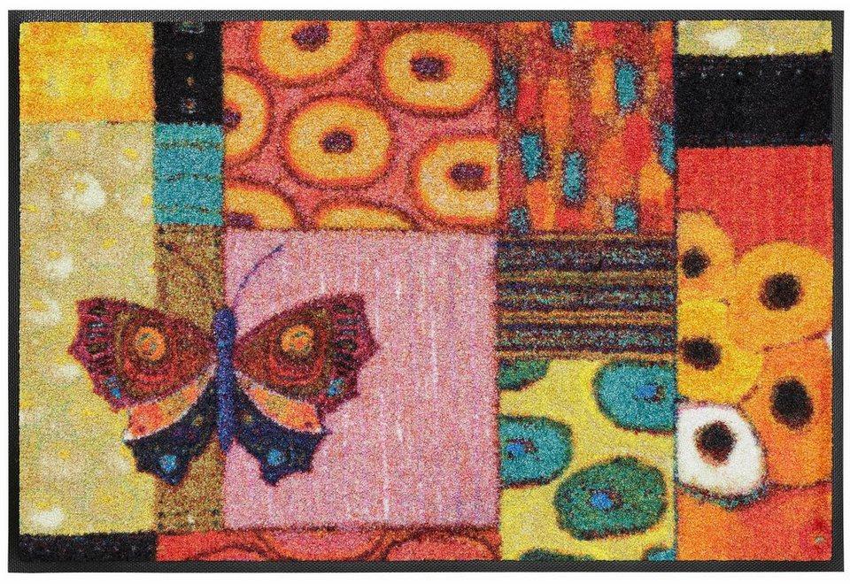 Fußmatte »Colourful Moment«, wash+dry by Kleen-Tex, rechteckig, Höhe 7 mm in bunt
