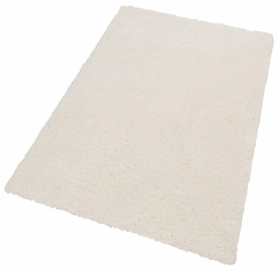 Flokati-Teppich, my home, »Athen«, Fellimitat in weiß