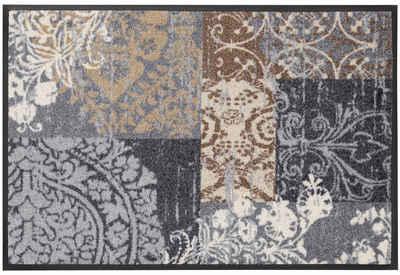 Fußmatte »Armonia«, wash+dry by Kleen-Tex, rechteckig, Höhe 7 mm, Schmutzfangmatte, In- und Outdoor geeignet, waschbar