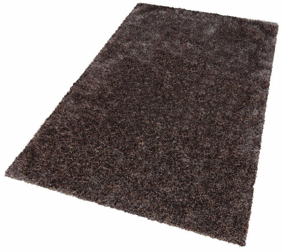 hochflor teppich tokyo my home rechteckig h he 40 mm online kaufen otto. Black Bedroom Furniture Sets. Home Design Ideas