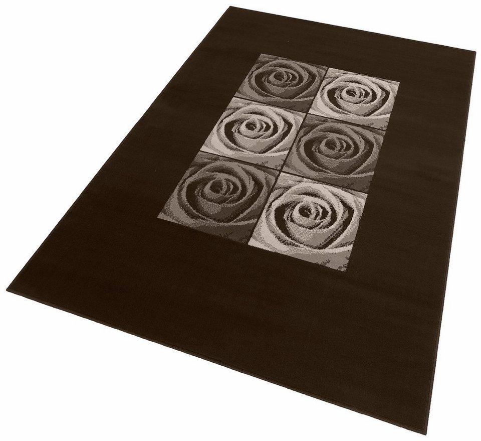 Teppich, my home, »Laurin«, gewebt in braun
