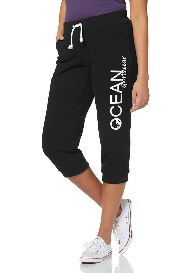 Ocean Sportswear Jogginghose in Schwarz