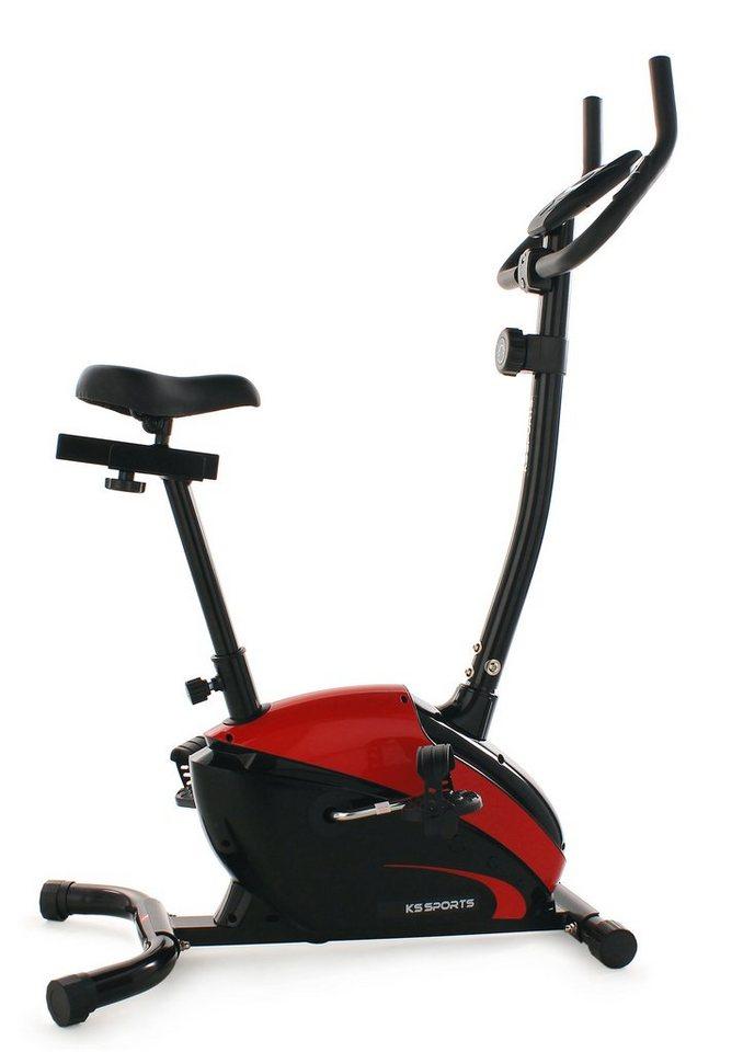 KS Sports Heimtrainer, »103F« in schwarz-rot