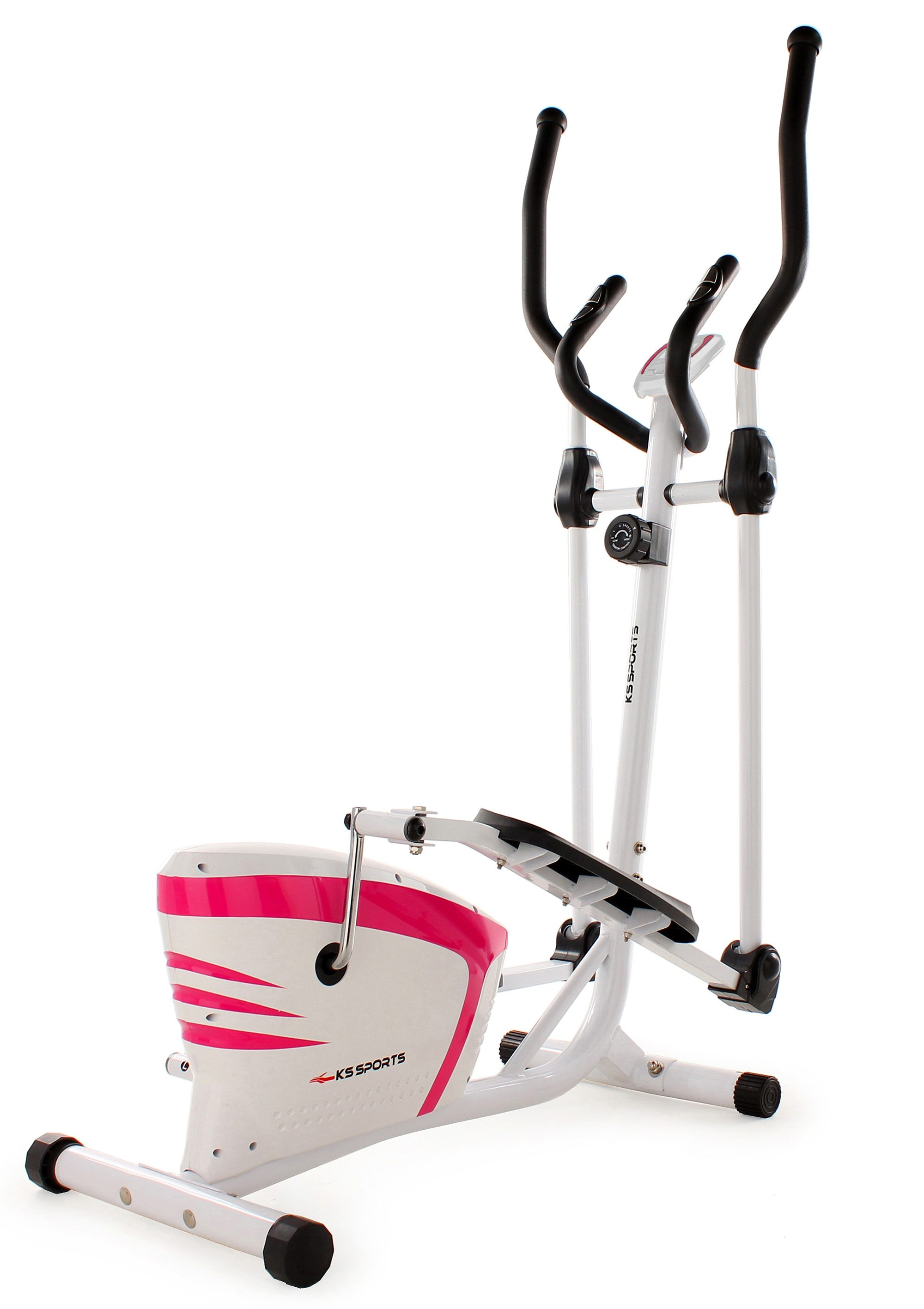 KS SPORTS Crosstrainer, weiß-pink, »205F«