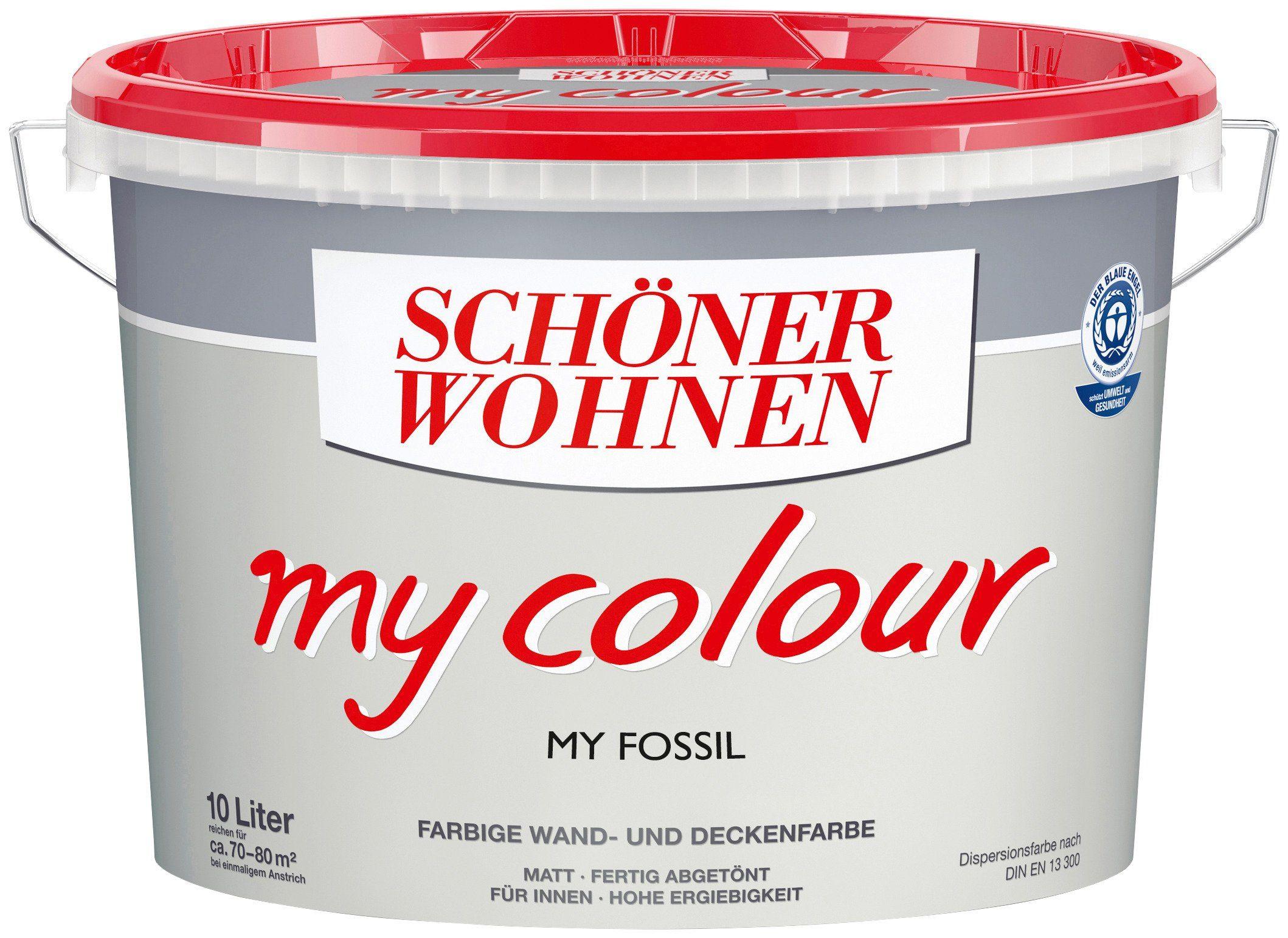 Schöner Wohnen Farbe Innenfarbe »My Color 10,0L my fossil«
