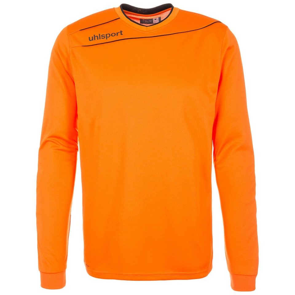 UHLSPORT Stream 3.0 Torwart Trikot Kinder in orange/schwarz
