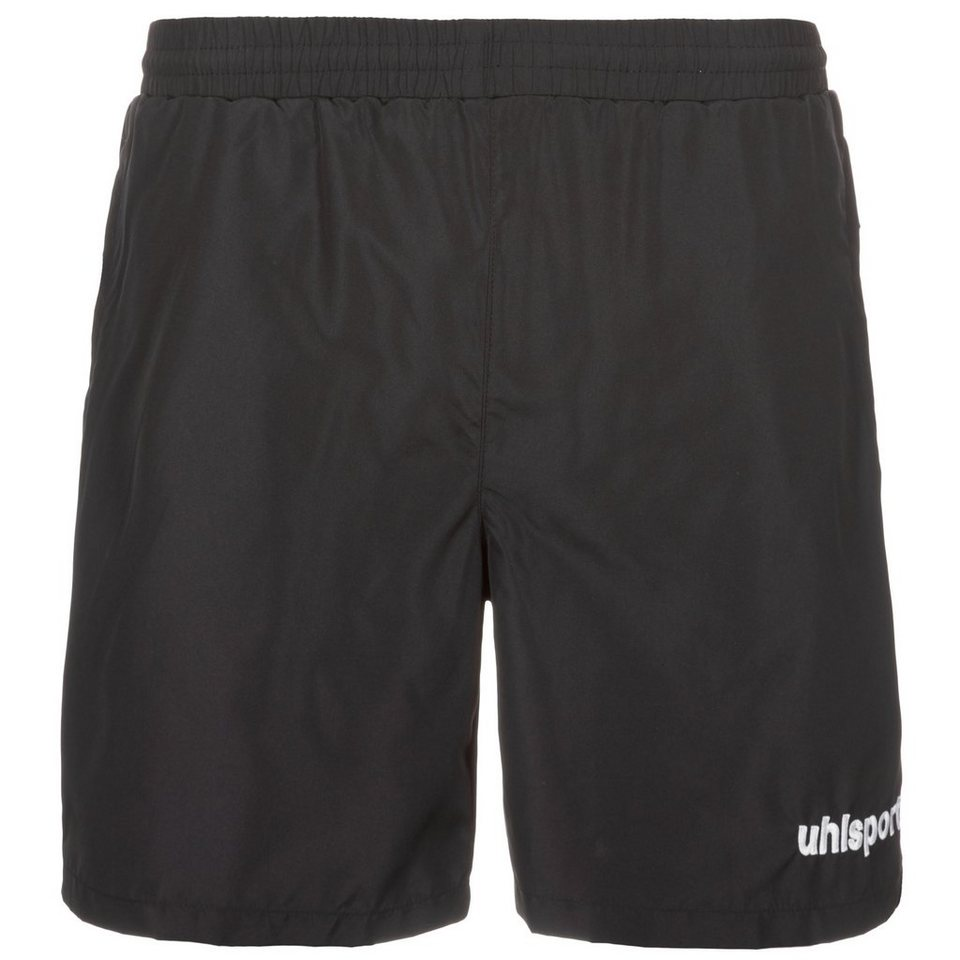 UHLSPORT Essential Webshort Kinder in schwarz