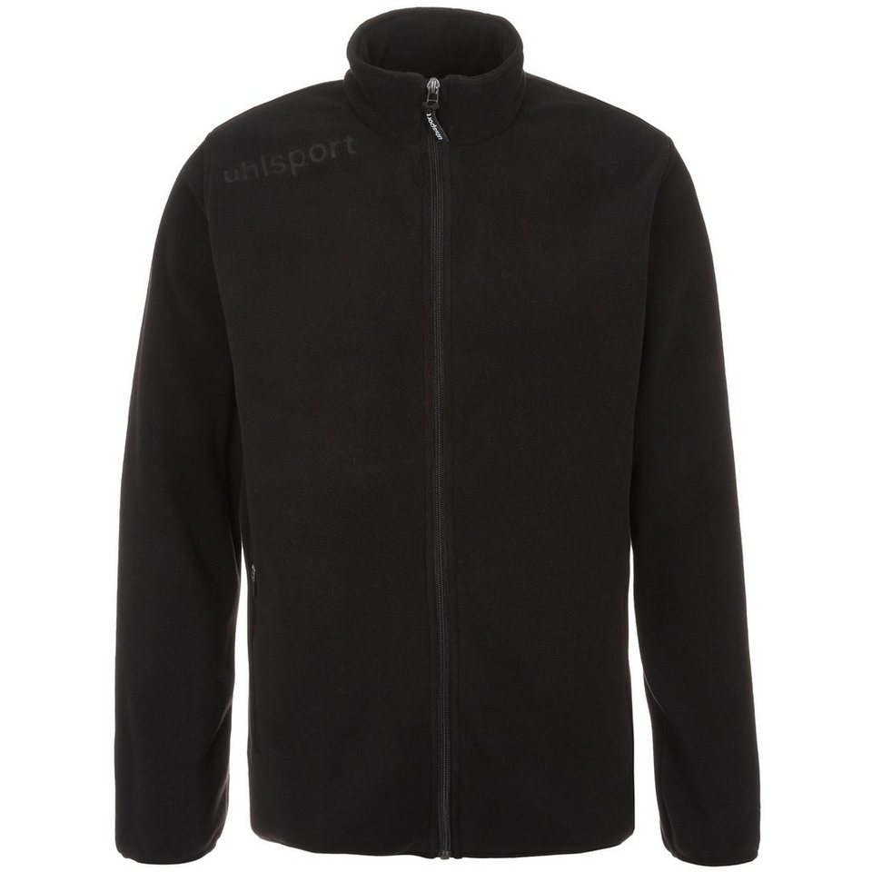UHLSPORT Essential Fleecejacke Kinder in schwarz