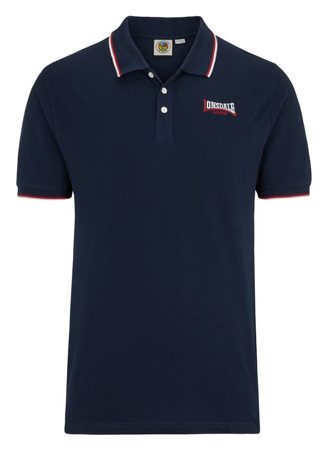 Lonsdale Poloshirt in Dark Navy