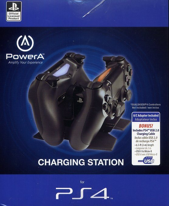 PowerA Double Charger Ladestation »(PS4)«