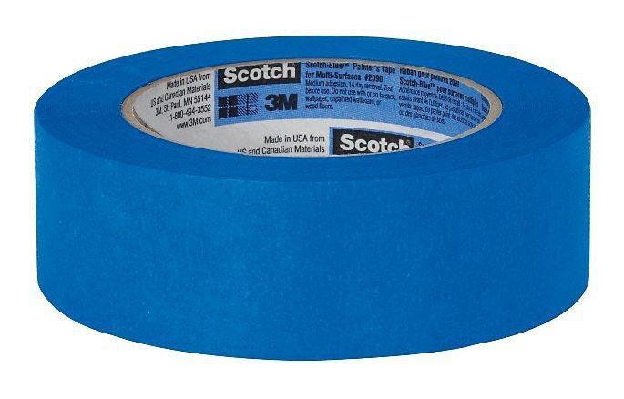 3M Fixierhilfe für 3D Drucker »Blue Tape« in blau