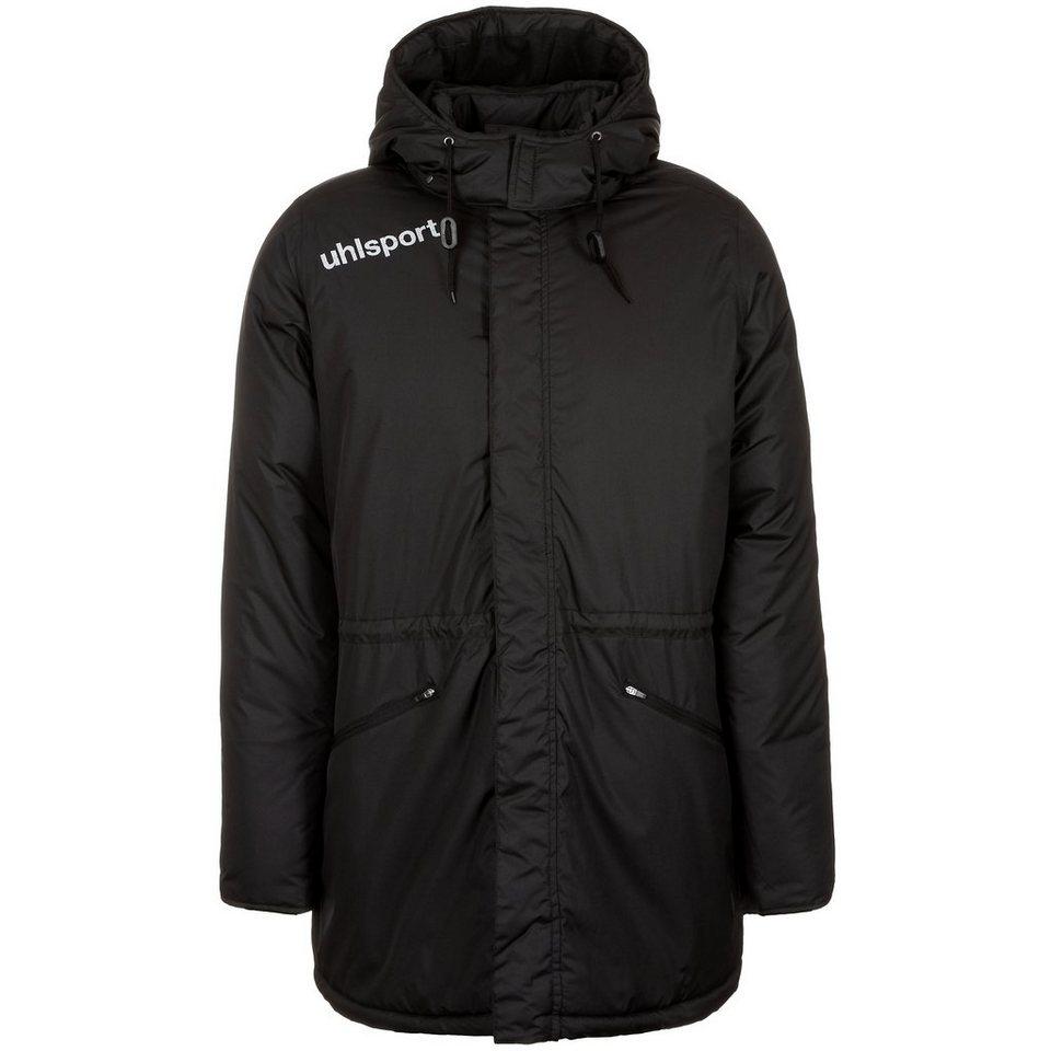 UHLSPORT Essential Winter Bench Jacke Herren in schwarz