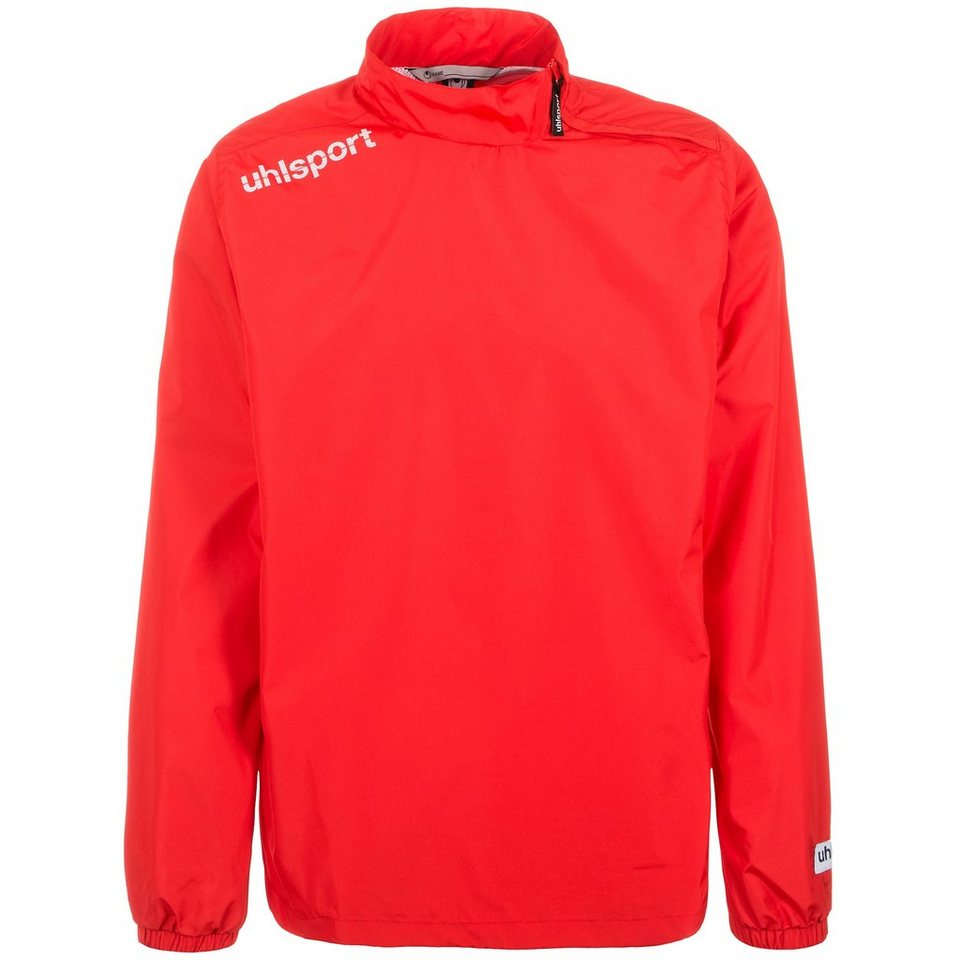 UHLSPORT Essential Windbreaker Kinder in rot
