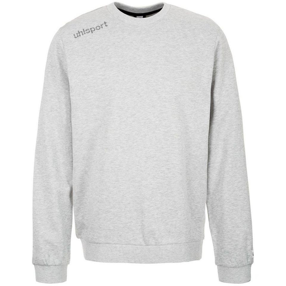UHLSPORT Essential Sweatshirt Herren in grau mélange