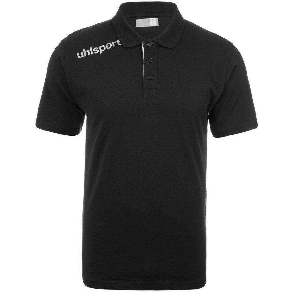 UHLSPORT Essential Polo Shirt Herren in schwarz