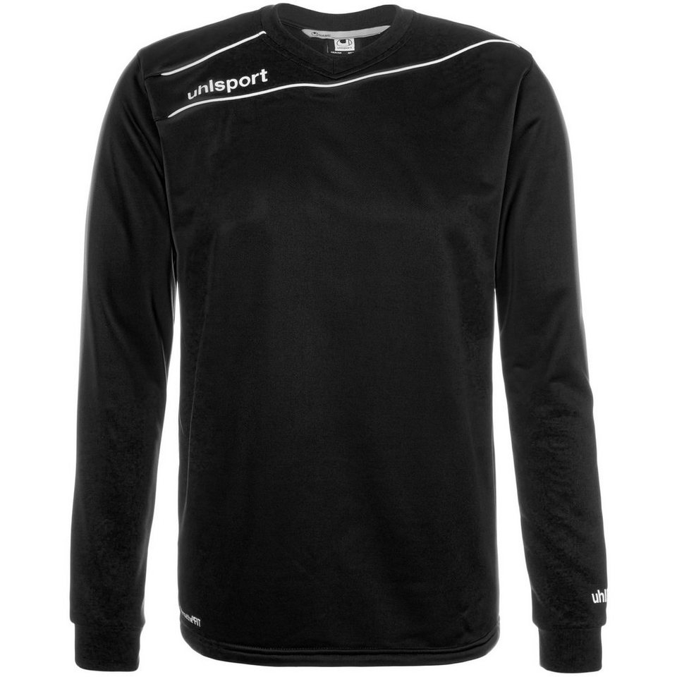 UHLSPORT Stream 3.0 Training Top Kinder in schwarz/weiß