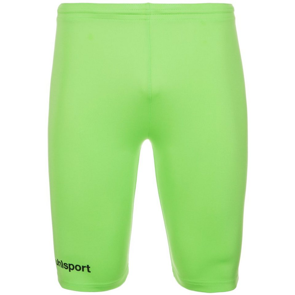UHLSPORT Tight Short Kinder in grünflash