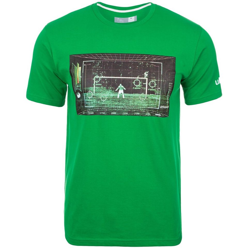 UHLSPORT T-Shirt Matrix Herren in grün