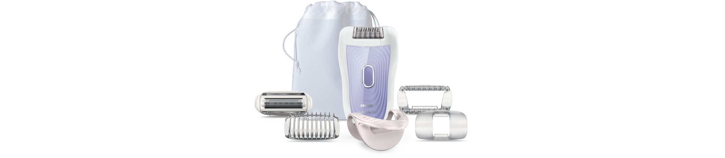 Philips Epilierer Satin Soft Wet&Dry HP6523/02
