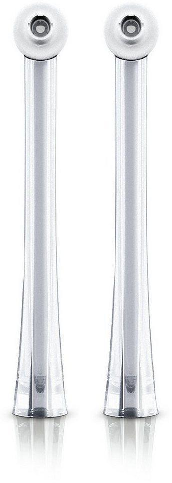 Philips Sonicare Ersatzdüse Interdental Airfloss Pro HX8032/07, 2er Pack in weiß