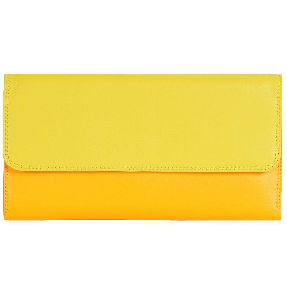 Mywalit Tri-fold Zip Wallet Geldbörse Leder 17 cm in sunburst