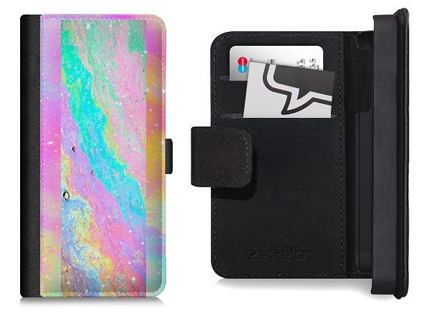 caseable Flip Wallet Case / Klapphülle für iPhone 5 und 5s mit Designer M