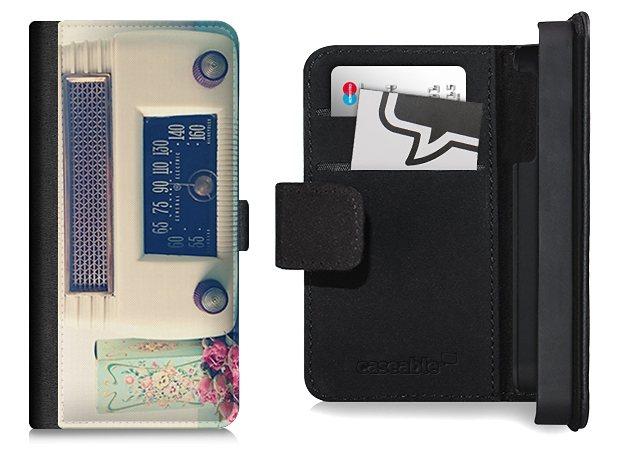 caseable flip wallet case klapph lle f r iphone 5 und 5s mit designer m online kaufen otto. Black Bedroom Furniture Sets. Home Design Ideas