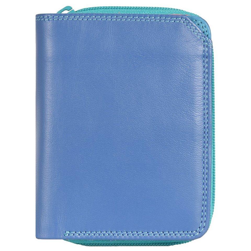 Mywalit Small Wallet Geldbörse Leder 10 cm in aqua