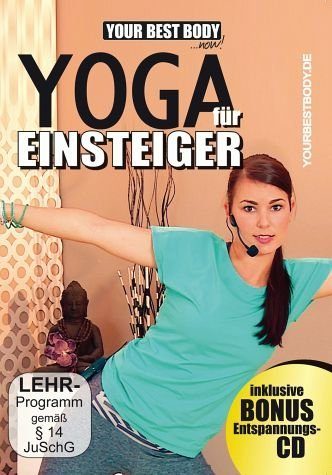 DVD »Your Best Body - Yoga für Einsteiger (+ Audio-CD)«