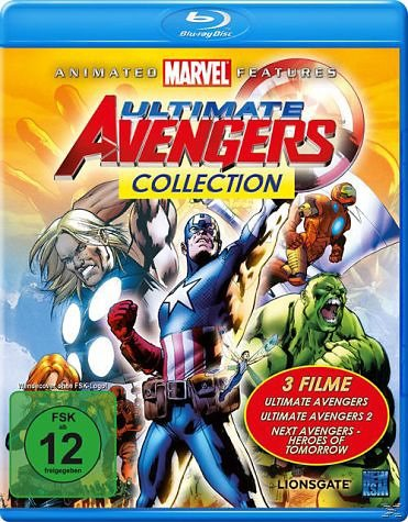 Blu-ray »Ultimate Avengers Collection Bluray Box«
