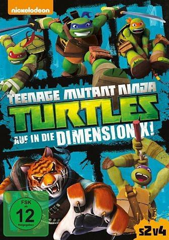 DVD »Teenage Mutant Ninja Turtles: Auf in die...«