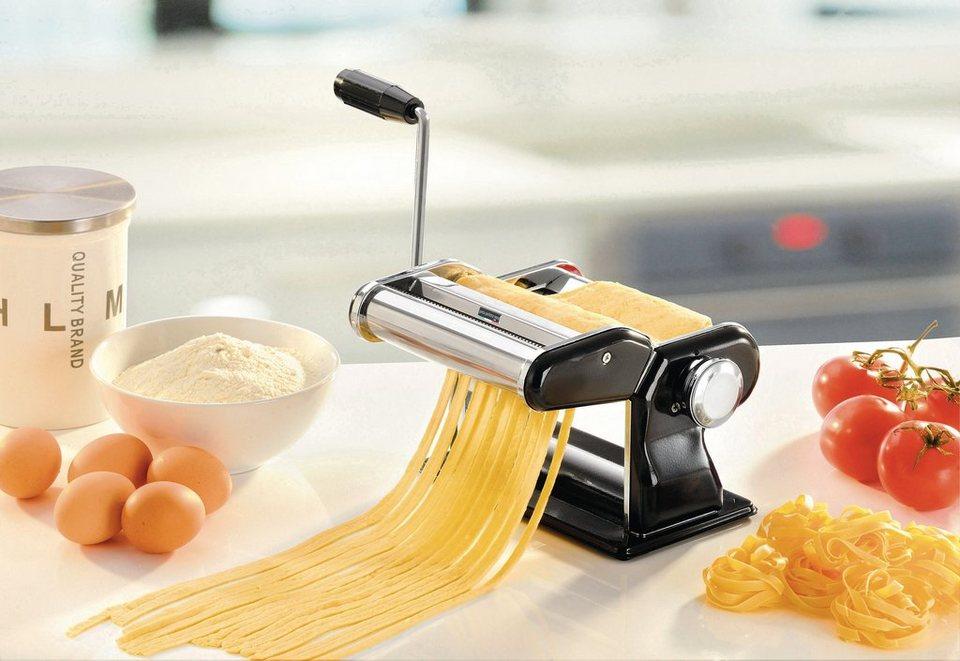 GEFU Profi-Pastamaschine, »PASTA PEREFETTA BRILLANTE« in silberfarben