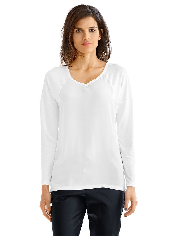 Blusenshirt in weiß