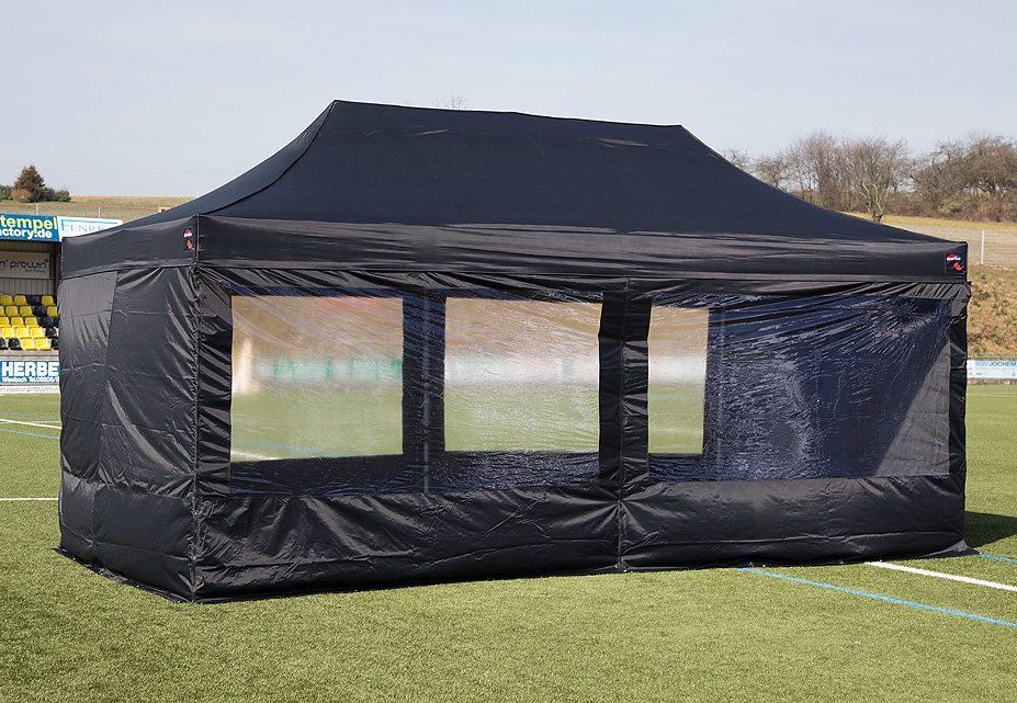 ExpressZelte Zelt, 4 x 8 Meter, schwarz