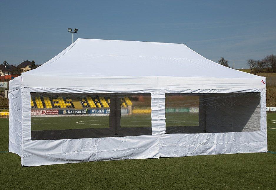 ExpressZelte Zelt, 4 x 6 Meter, weiß in weiß