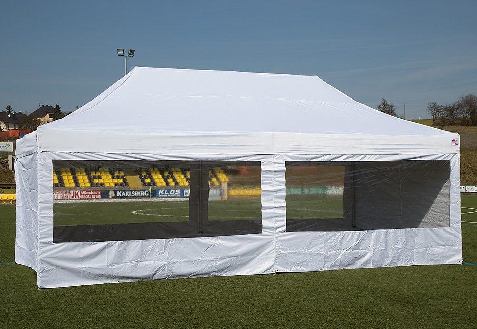 ExpressZelte Zelt, 4 x 6 Meter, weiß