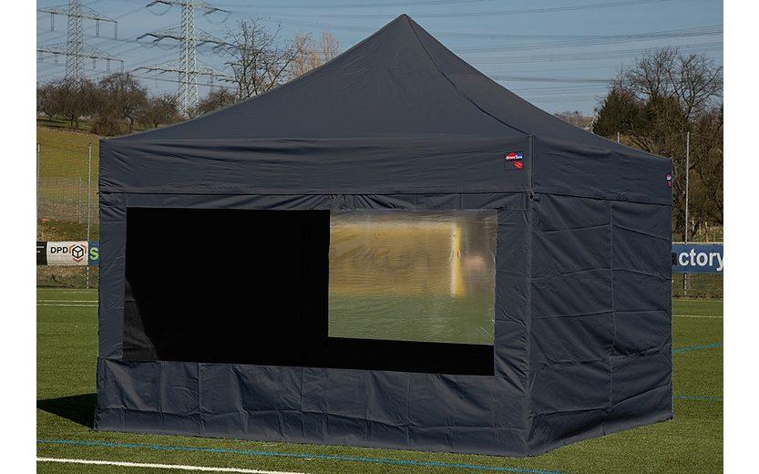 ExpressZelte Zelt, 4 x 4 Meter, schwarz