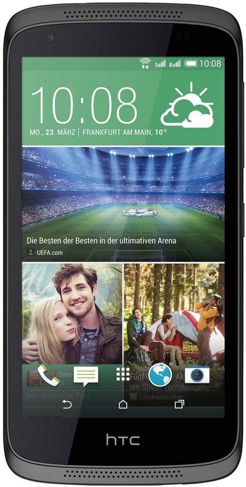 HTC Desire 526G Dual Smartphone, 11,9 cm (4,7 Zoll) Display, Android 4.4, 8,0 Megapixel in schwarz