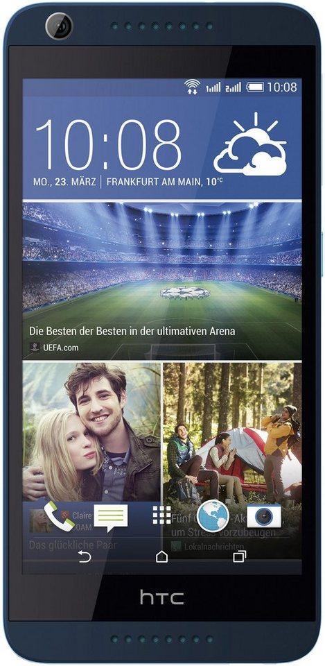 HTC Desire 626G Dual Smartphone, 12,7 cm (5 Zoll) Display, Android 4.4, 13,0 Megapixel in blau