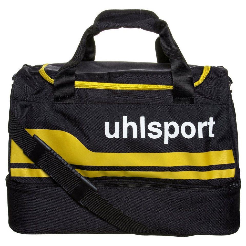 UHLSPORT Basic Line 2.0 30 L Spielertasche in schwarz/maisgelb