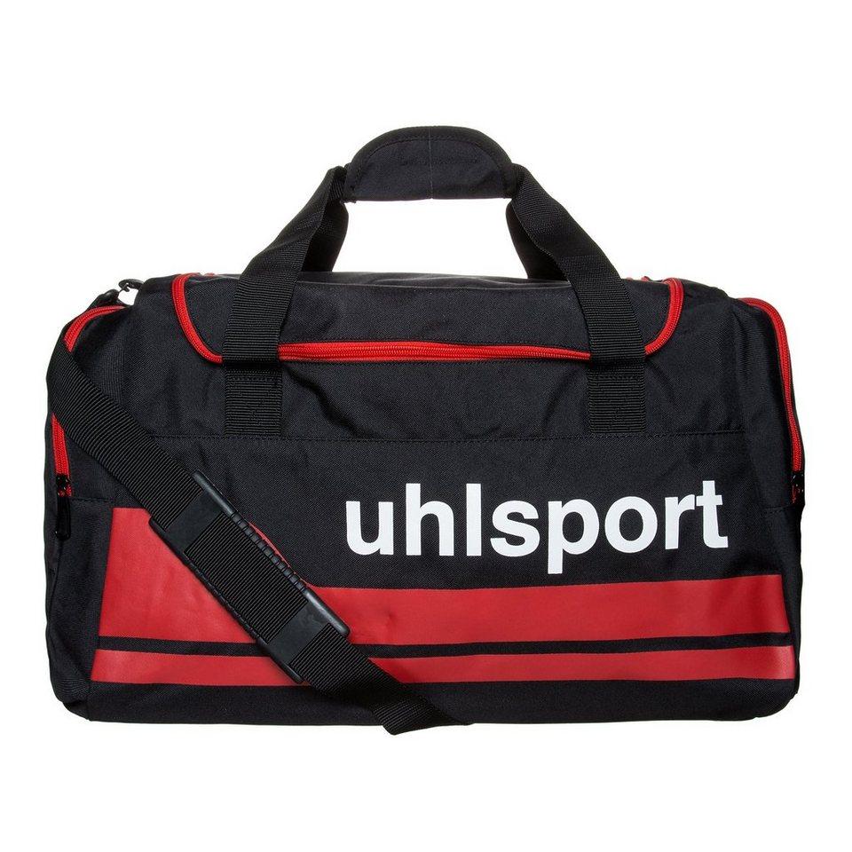 UHLSPORT Basic Line 2.0 50 L Sporttasche M in schwarz/rot