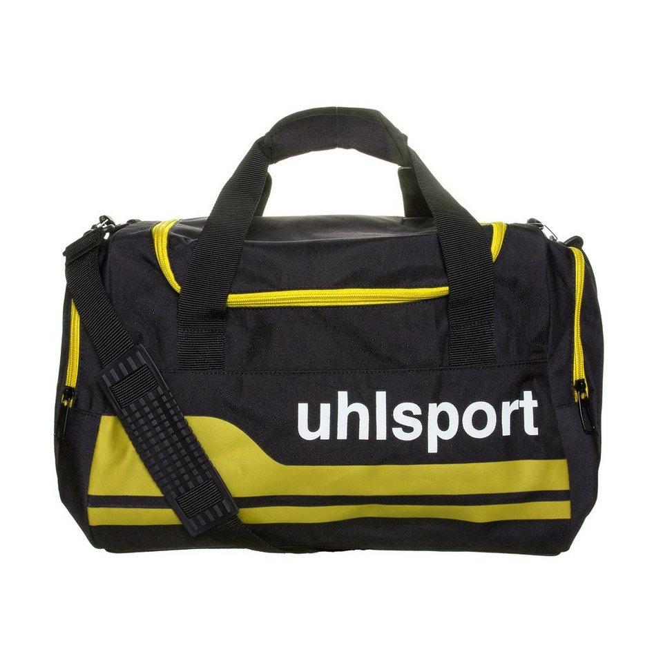 UHLSPORT Basic Line 2.0 30 L Sporttasche S in schwarz/maisgelb