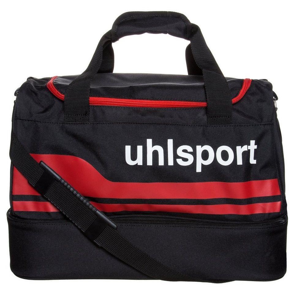 UHLSPORT Basic Line 2.0 30 L Spielertasche in schwarz/rot