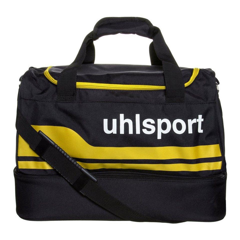 UHLSPORT Basic Line 2.0 50 L Spielertasche in schwarz/maisgelb