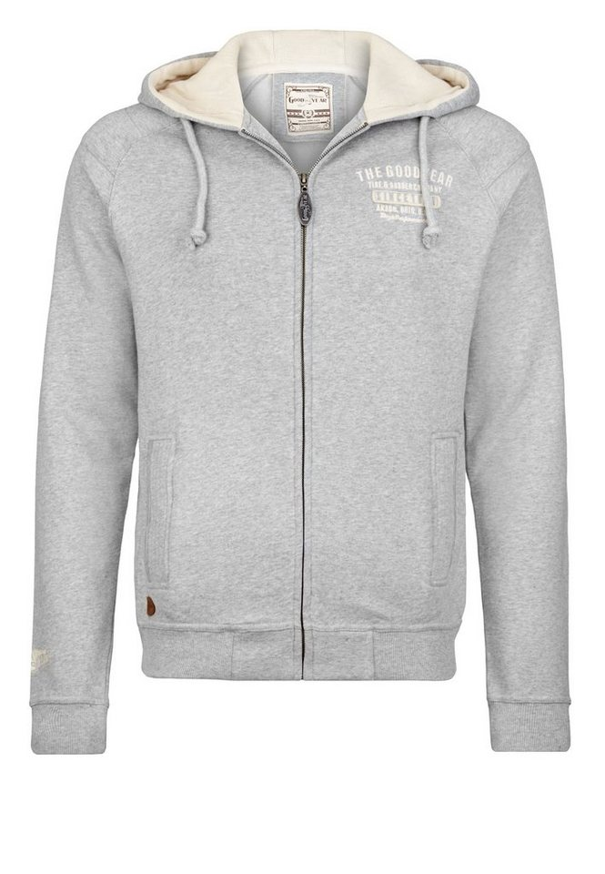 Goodyear Sweatjacke »TOLEDO« in Marl Grey