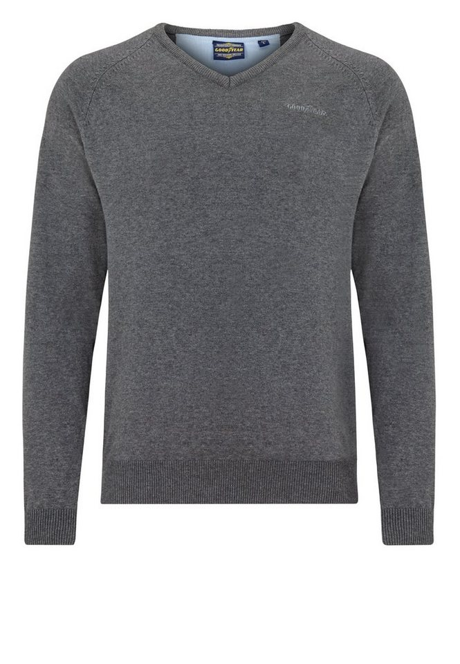 Goodyear Pullover »WYOMING« in Marl Ash