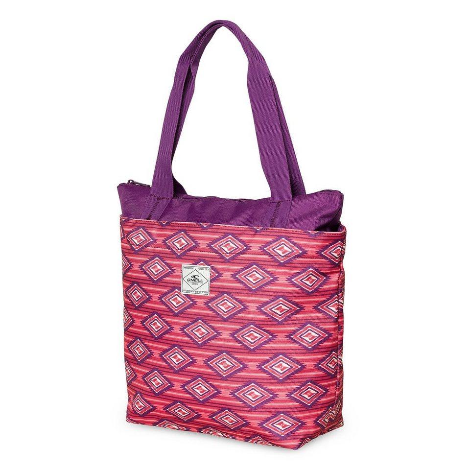 O'Neill Strandtasche »Waterfall shopper« in Pink gemustert